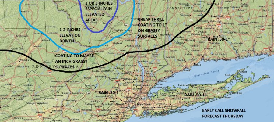Map Of New York New Jersey And Connecticut.Snow Forecast For Ny Nj Ct Area Nyc Weather Now
