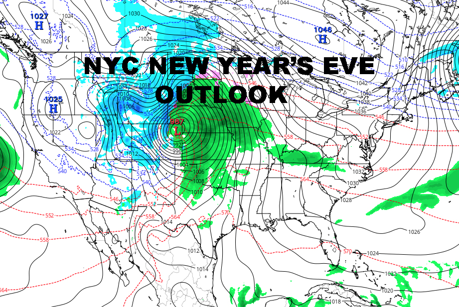 Nyc New Years Outlook Nyc Weather Now