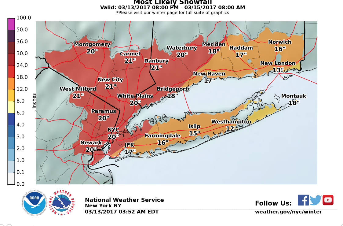 NYC AREA BLIZZARD WARNINGS IN EFFECT LATE TONIGHT TOMORROW NYC - Nyc unfolds map